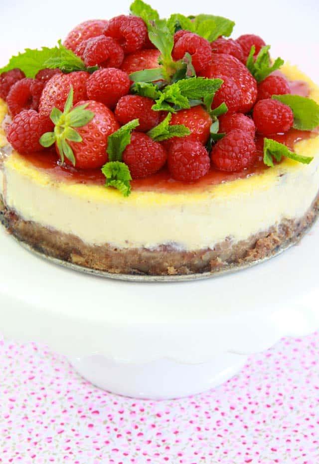 Receta NY Cheesecake