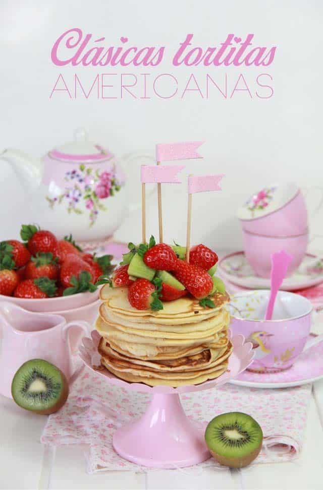 Clásicas Tortitas Americanas (Receta esponjosa y fácil de hacer)
