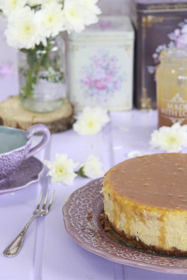 Receta Cheesecake de calabaza