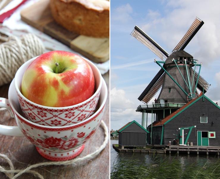 Tarta de manzana Holandesa