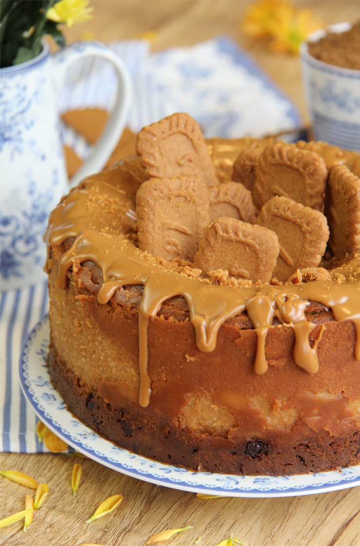 Cheesecake de crema de Lotus o Cheesecake de Spéculoos