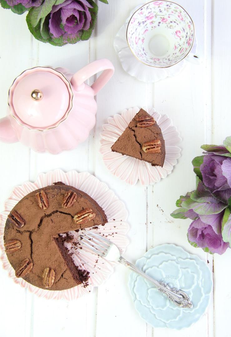 Bizcocho de chocolate saludable