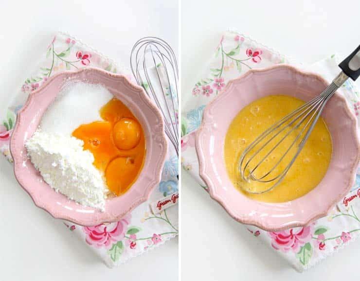 Ingredientes crema pastelera