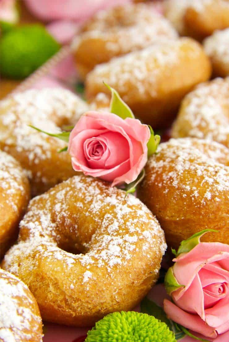 Rosquillas de anís esponjosas