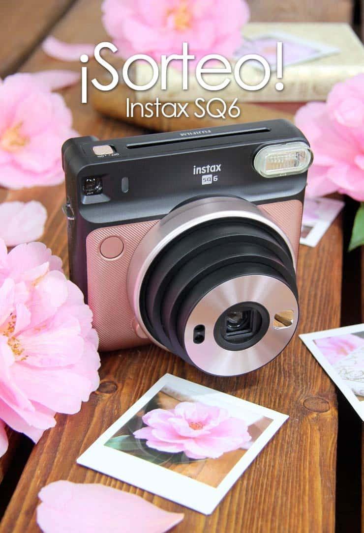 Sorteo cámara Instax SQ6