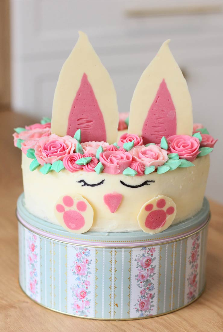Tutorial tarta conejo