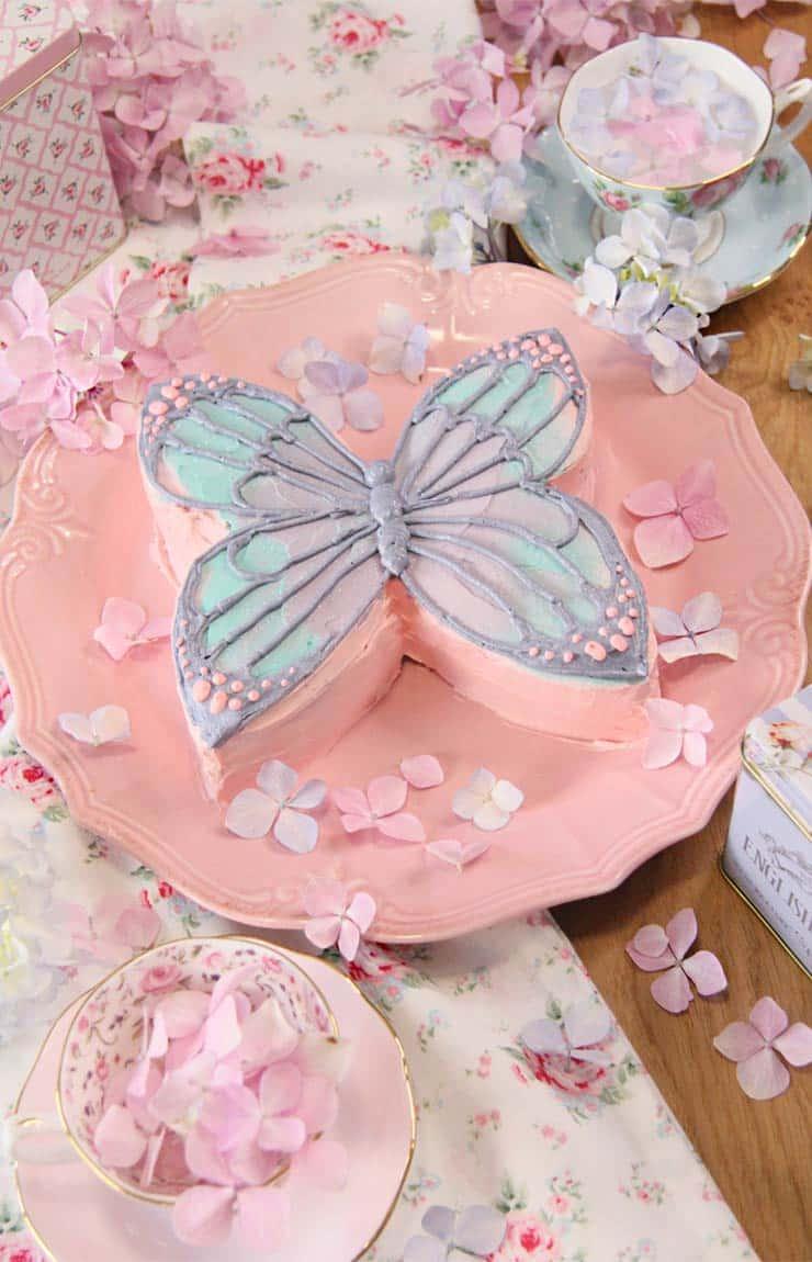 Tutorial tarta de mariposa