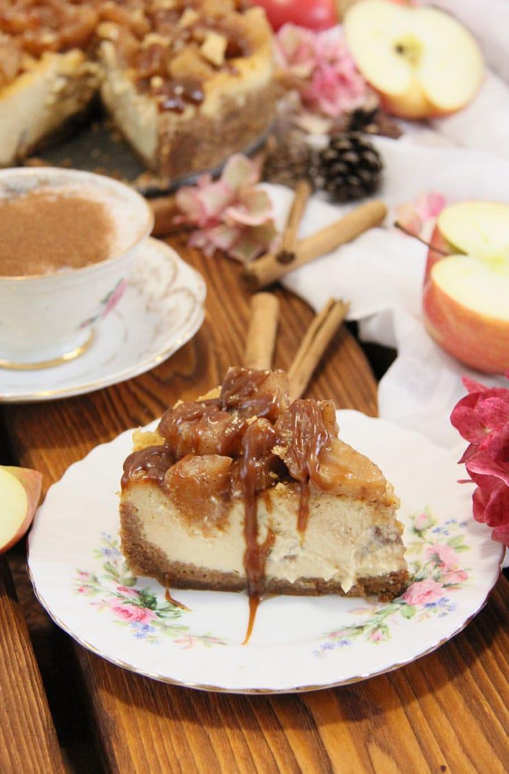 Cheesecake de manzana