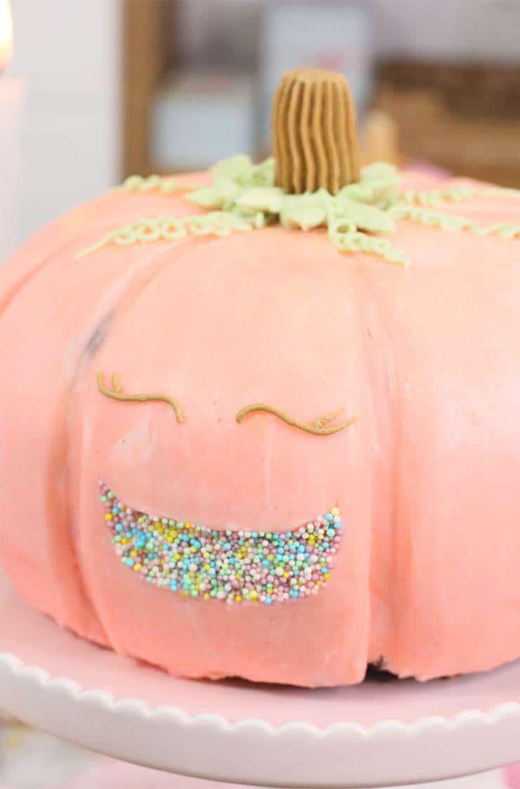 Tarta calabaza halloween