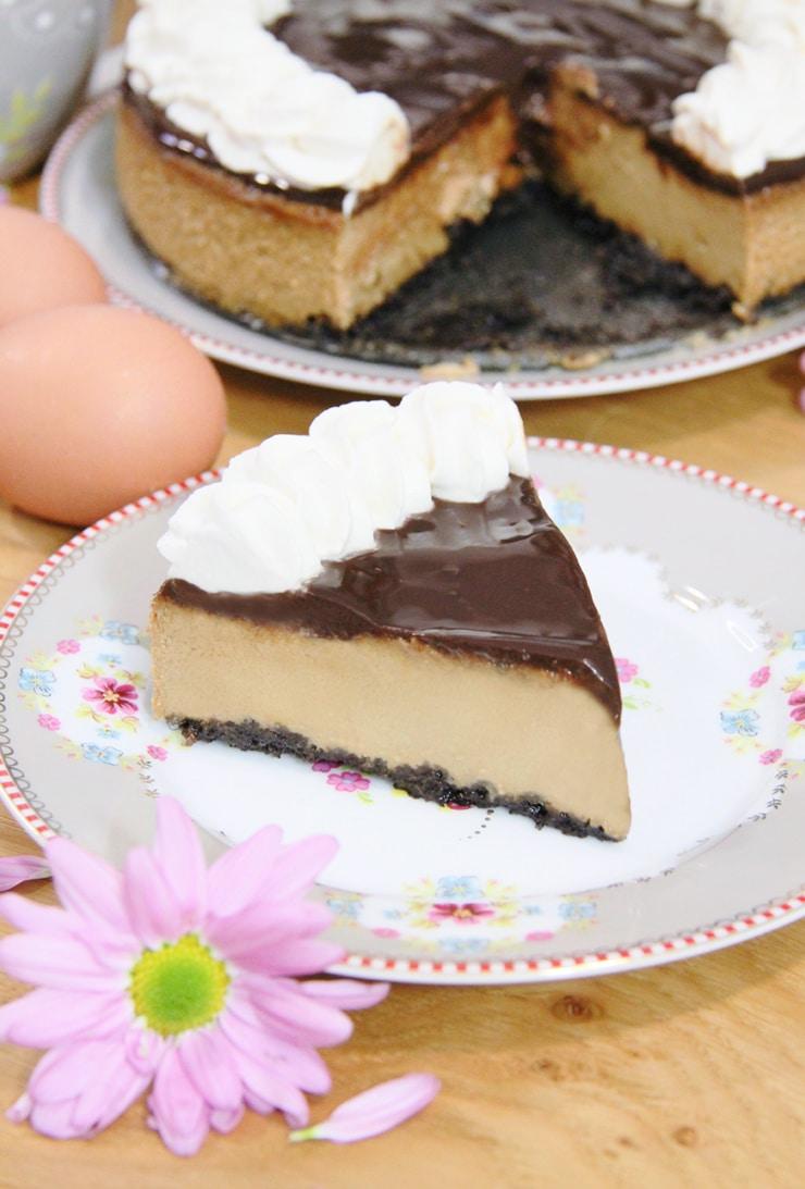Cheesecake de cafe