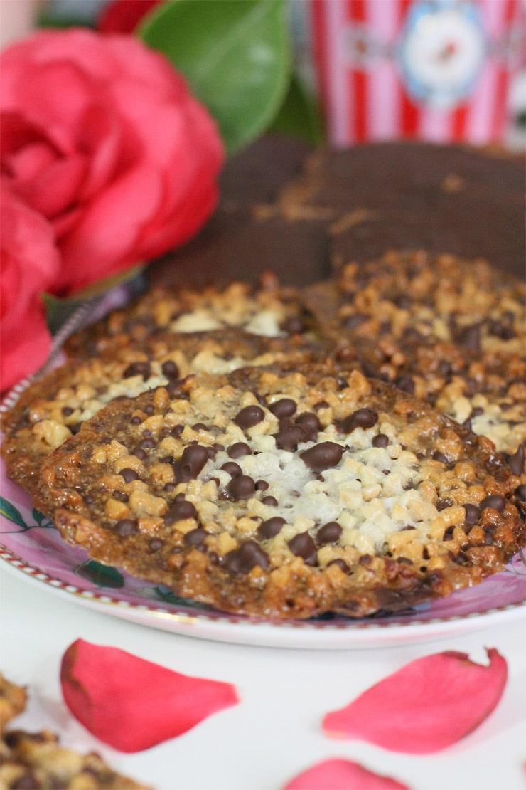 Moscovitas. Cómo hacer estas galletas asturianas de almendra y chocolate